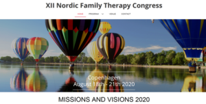 Nordic Family Therapy Congress 2020